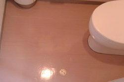 トイレのワックス剥離洗浄