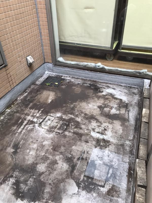 ベランダ・テラス等の土砂汚れ洗浄のサムネイル